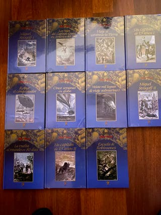 Colección de libros de Julio Verne