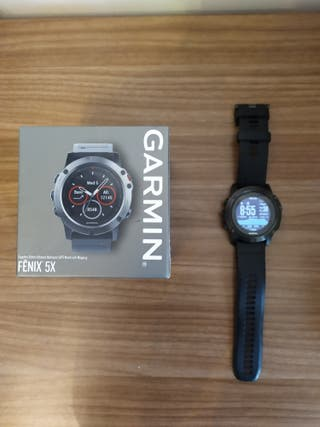 Garmin Fenix 5x zafiro