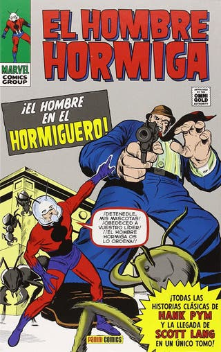 El hombre hormiga Marvel omnibus