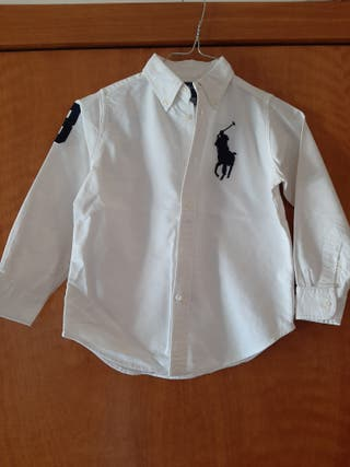 Camisa Ralph Lauren talla 5 seminova