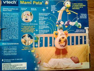 Carrusel musical bebes Mami pata Vtech