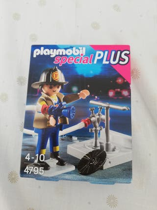 Bombero 4795 Playmobil