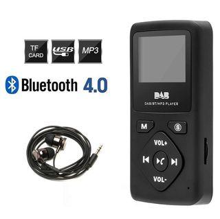Reproductor Radio Digital DAB DAB+ MP3 Bluetooth