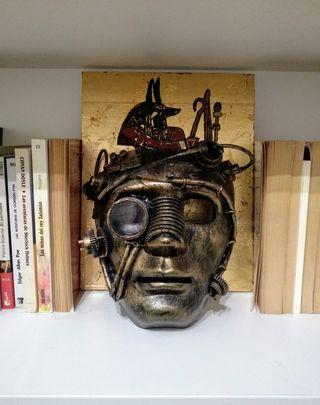 Máscara Steampunk nueva