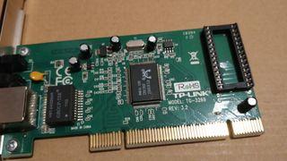Tarjetas de red PCI Gigabit ethernet