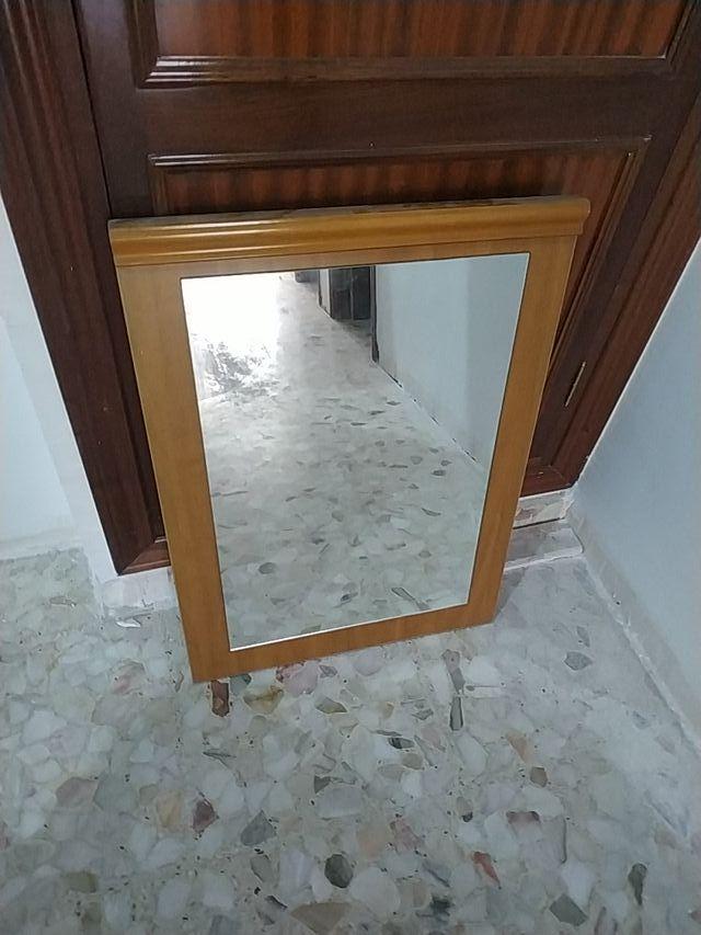 espejos de madera y cristal