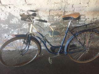 Bicicleta bh especial barra baja antigua