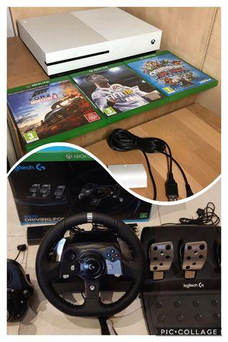 Xbox one s logitech g920