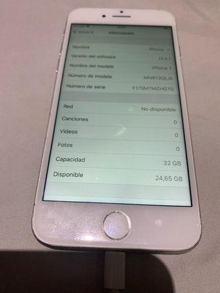 Iphone 7 32gb Blanco y plata