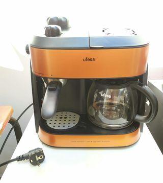 Cafetera expreso combi ufesa