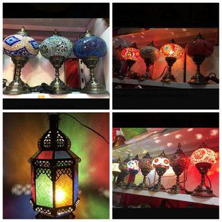 lamparas artesanal de Marruecos hechas a mano