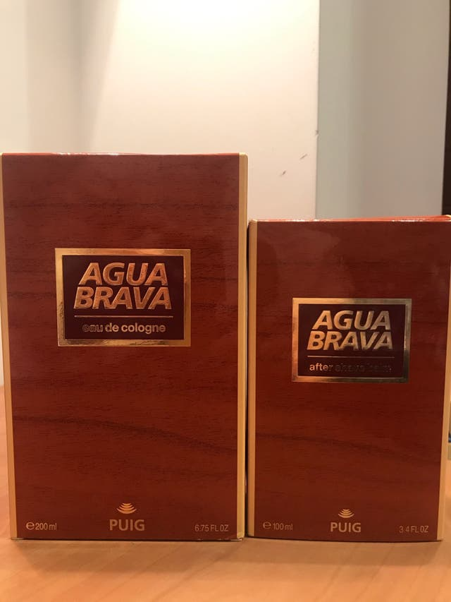 Pack colonia+after shave agua brava