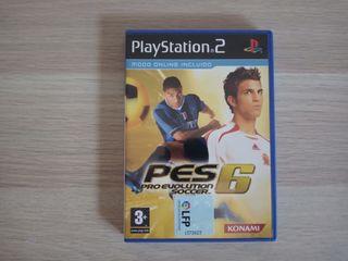 Pro Evolution Soccer 6 para Ps2.