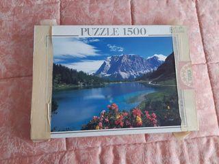 Puzzle 1500 piezas - Lago