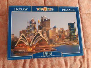 Puzzle de 1500 piezas de Sidney Opera House
