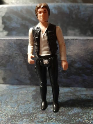 Figura Star Wars vintage Han Solo Small head