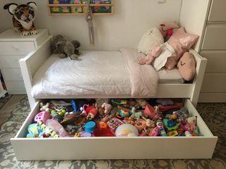 Cama infantil lacada
