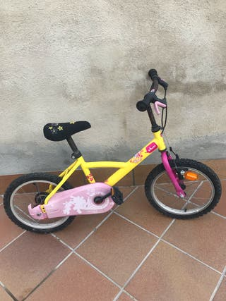 Bicicleta niña Decathlon Btwin