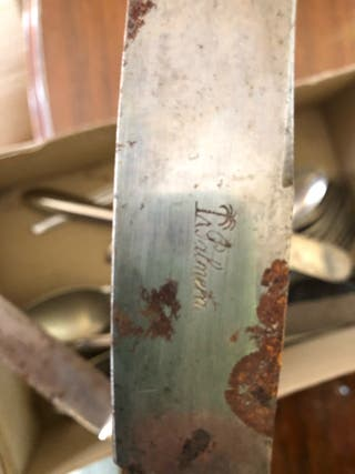 Cuchillos antiguos La Palmera