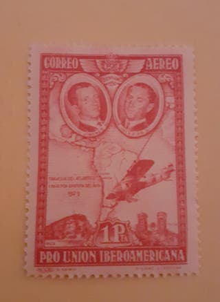 sello nuevo 1 peseta 1930