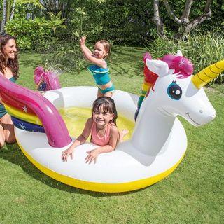 piscina intex hinchable unicornio