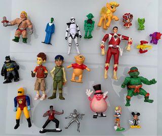 Lote de figuritas