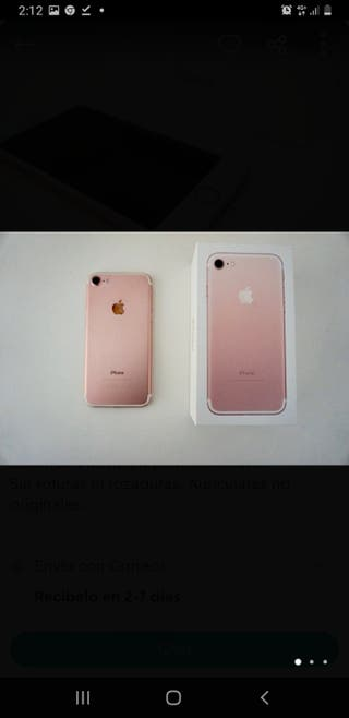 Iphone 7 Oro Rosa Gold