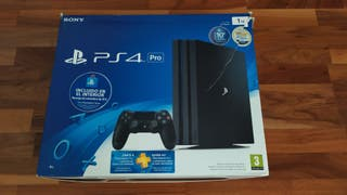 PlayStation 4 Pro 1TB como nueva