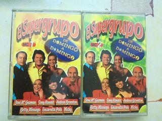 cassettes originales El Supergrupo