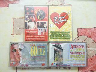 cassettes originales copla