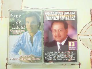 cassettes Pepe de Lucía y Lorenzo González