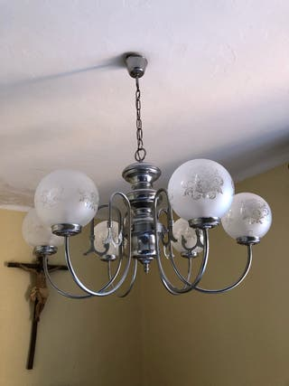 Lote Apliques, lámparas, luces antiguos