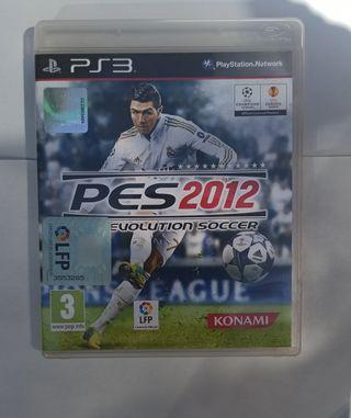 FIFA 12 y PRO EVOLUTION 2012 PS3