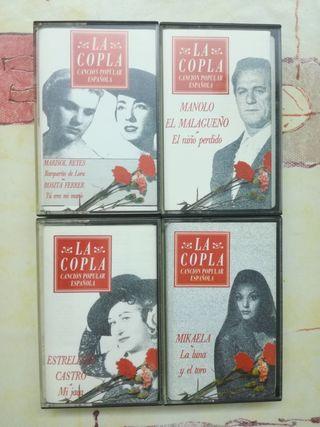 Colección cassettes originales La Copla