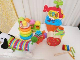 Pack juguetes educativos bebé y niño
