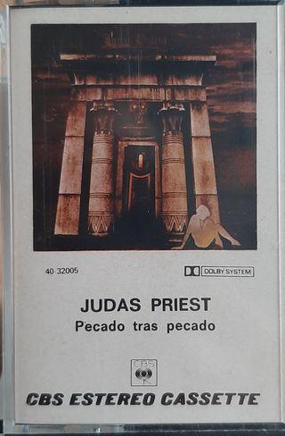 Judas Priest Pecado tras pecado cassette