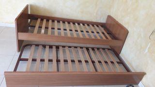 2 camas de 90 cm semi nueva