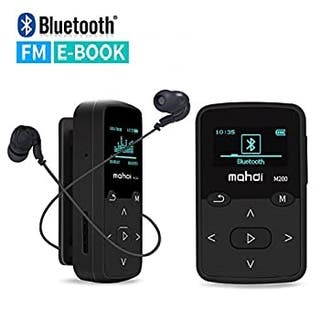 Reproductor MP3 Bluetooth 8Gb Clip + Auriculares