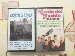 cassettes Gente de Gines y Gente del pueblo