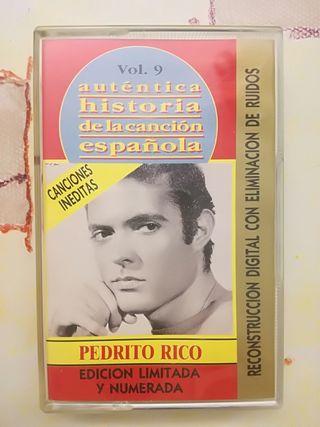 cassette original Pedrito Rico