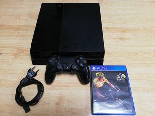 PS4 1 Tb con mando y juego