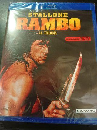 Rambo La trilogía bluray restaurado 2k