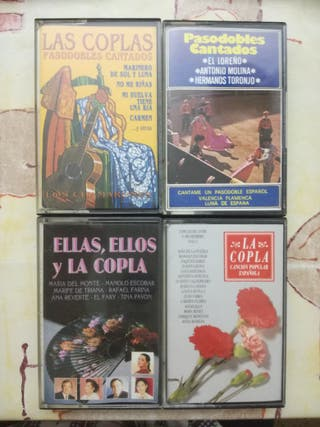 cassettes originales coplas y pasodobles