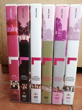 DVDs The L word.Serie oficial de Temporades 1 a 6