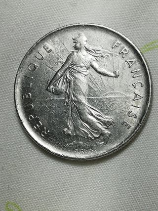 Moneda de la Republica Francesa