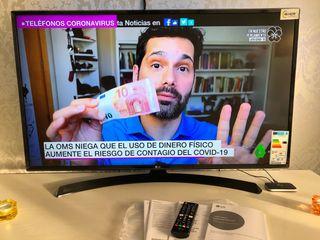 Televisión LG SMART TV y 4K
