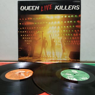 Queen - Live Killers 1979 GER 1er Ed Gatefold