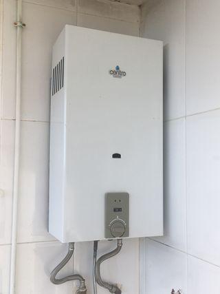 Calentador agua gas butano