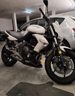 Kawasaki ER6N limitada para A2