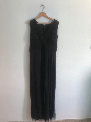 Vendo vestido de fiesta negro un solo uso